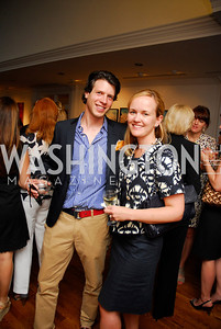 Mark Gillespie, Lilly Stevens Becker, Reception for YOA Orchestra of the Americas, June 8, 2011, Kyle Samperton