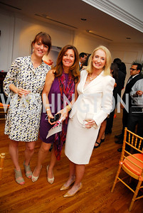 Nina Weir, Conchitta Sarnoff, Rhona Friedman, Reception for YOA Orchestra of the Americas, June 8, 2011, Kyle Samperton