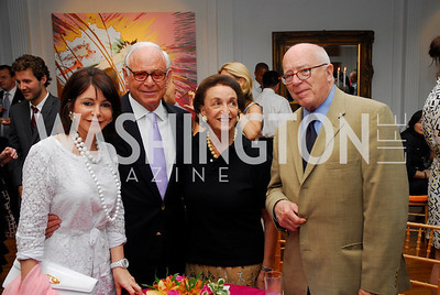 Joann Mason, John Mason, Lucky Roosevelt, Joe Duffey, Reception for YOA Orchestra of the Americas, June 8, 2011, Kyle Samperton