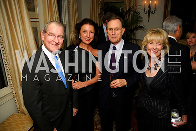 Wiliam Webster,Aniko Gaal Schott,Ambassador Gyorgy Szapary,Lynda Webster,November 18,2011,Reception for the Ambassador of Hungary,Kyle Samperton