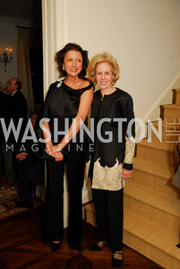 Aniko Gaal Schott,Ann Nitze,November 18,2011,Reception for the Ambassador of Hungary,Kyle Samperton