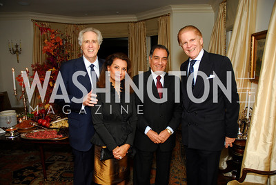 Nash Schott,Sheila Saleh,Peter Saleh,Michael Buxton,November 18,2011,Reception for the Ambassador of Hungary,Kyle Samperton