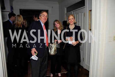 Teddy Proxmire,Janet Donovan,Kelly Proxmire,November 18,2011,Reception for the Ambassador of Hungary,Kyle Samperton