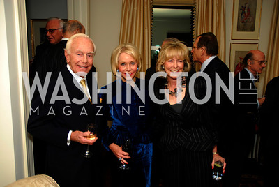 Mandy Ourisman,Mary Ourisman,Lynda Webster,November 18,2011,Reception for the Ambassador of Hungary,Kyle Samperton