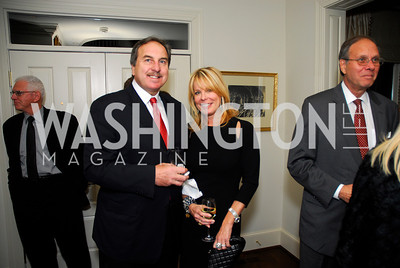 Ernie Grunfeld,Nancy Grunfeld,November 18,2011,Reception for the Ambassador of Hungary,Kyle Samperton