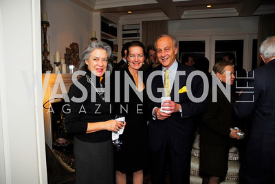 Joan Barnett,Dietlinde Maazel,Massimo Flugelman,November 18,2011,Reception for the Ambassador of Hungary,Kyle Samperton
