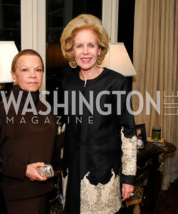Ruth La Salle,Ann Nitze,November 18,2011,Reception for the Ambassador of Hungary,Kyle Samperton