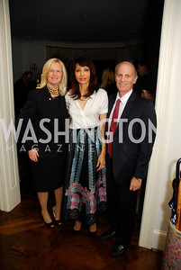 Susan Blumenthal.Rohini Talalla,Jeff Bader,November 18,2011,Reception for the Ambassador of Hungary,Kyle Samperton