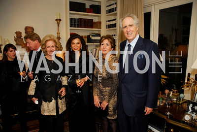 Ann Nitze,Sedi Flugelman,Maha Kodura,Nash Schott,November 18,2011,Reception for the Ambassador of Hungary,Kyle Samperton