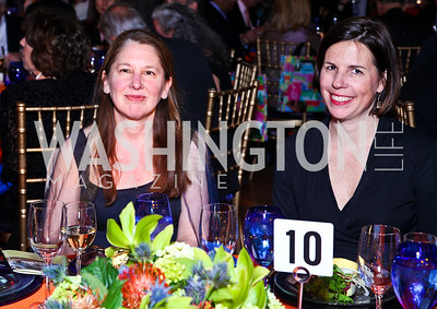 Author Susan Coll, Rachel White. Photo by Tony Powell. Refugees International 32nd Annual Dinner. Mellon Auditorium. May 5, 2011