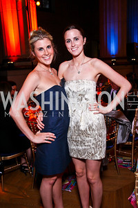 Brooke and Kate Monahan. Photo by Tony Powell. Refugees International 32nd Annual Dinner. Mellon Auditorium. May 5, 2011