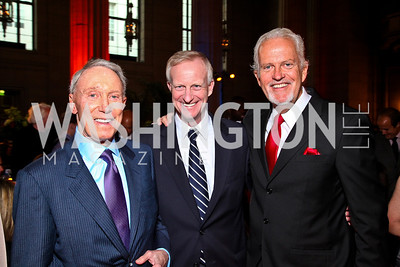 Jim Kimsey, Jack Evans, Jack Davies. Photo by Tony Powell. Refugees International 32nd Annual Dinner. Mellon Auditorium. May 5, 2011