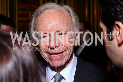 Sen. Joe Lieberman. Photo by Tony Powell. Refugees International 32nd Annual Dinner. Mellon Auditorium. May 5, 2011