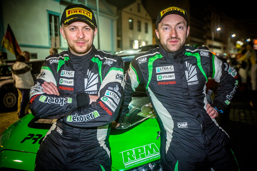 Russian anthem on the Azores: Lukyanuk wins the first round of the FIA European Rally Championship