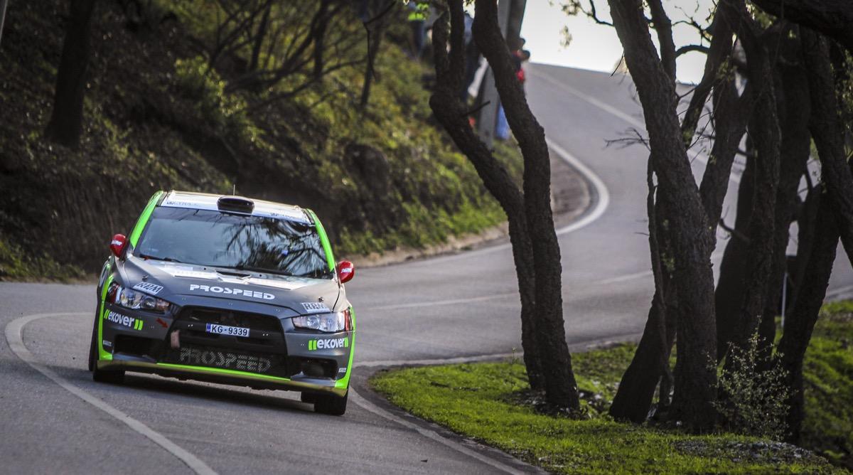 Sergei Remennik and Marina Danilova won European Rally Trophy 2018!