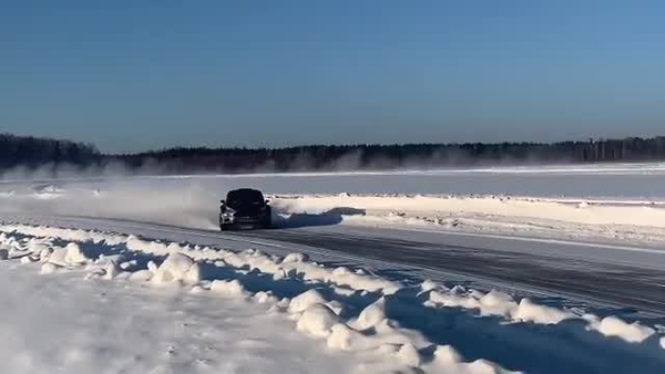 """Test runs before rally """"Malachite"""", the 2019 Russian Rally Cup RRC - From February 21, at lake Baltim"""