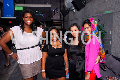Candice Norwood,Brittni Guevara,Zhang Jinro,Anna Rehmafalla,Roaring 20's Party at Eden,Kyle Samperton