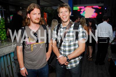 Miguel Drake-McLaughlin,Rufus Lusk,Roaring 20's Party at Eden,July 28,2011,Kyle Samperton