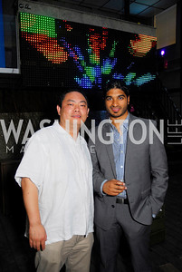 Charles Zhou,Vinoda Basnayke,Roaring 20's Party at Eden,July 28,2011,Kyle Samperton