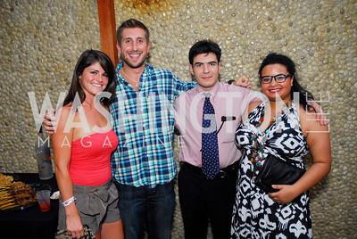 Katie Ansell,Rob Castelluci,Jesse Ellsbury,Lisa Esposito,Roaring 20's Party at Eden,July 28,2011,Kyle Samperton