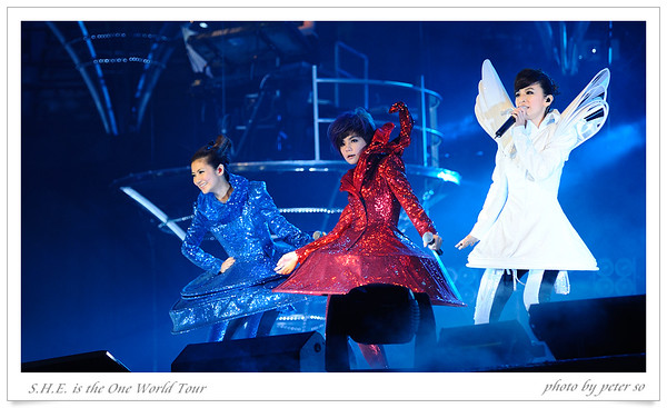 S.H.E. is the One World Tour