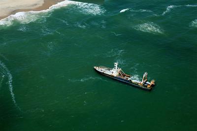 Shipwrecked Fishing Boat Skeleton Coast