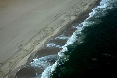 Atlantic Ocean Converges with Skeleton Coast