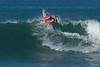 BIANCA BUITENDAG WORKING ON HER ONE LEG SURFING