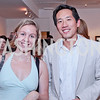 Rachel Morris, Howard Yoon. Sacha Scoblic's UNWASTED Book Launch Party. International Arts & Artists. Photo by Alfredo Flores. July 27, 2011