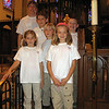 St. James Acolytes at St. Philip altar.