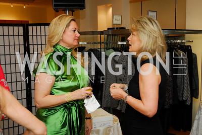 Darby Gingery, Toni Marx, December 4, 2011, Saks Jandel Fashion Show Benefiting Children's National Medical Center.