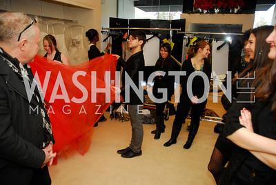 Christian Siriano, December 4, 2011, Saks Jandel Fashion Show Benefiting Children's National Medical Center.