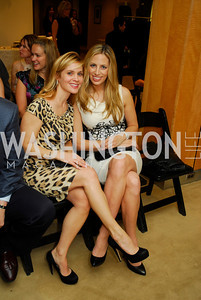Stacey Lubar, Amy Donnelly, December 4, 2011, Saks Jandel Fashion Show Benefiting Children's National Medical Center.