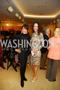 Barbara Wright, Crystal Wright, December 4, 2011, Saks Jandel Fashion Show Benefiting Children's National Medical Center.