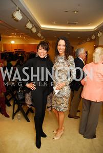 Barbara Wright, Crystal Wright, December 4, 2011, Saks Jandel Fashion Show Benefiting Children's National Medical Center.