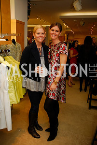 Meg Ferguson, Mae Grennan, December 4, 2011, Saks Jandel Fashion Show Benefiting Children's National Medical Center.