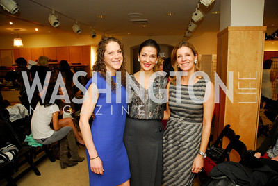 Meredith Zimmerman, Shelly Galli, Michelle Pablo, December 4, 2011, Saks Jandel Fashion Show Benefiting Children's National Medical Center.