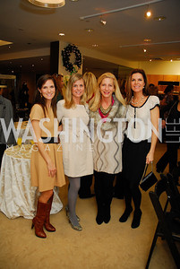 Allison Rieppe, Kim Shiff, Andrea Cecchi, Mary Ritchey, December 4, 2011, Saks Jandel Fashion Show Benefiting Children's National Medical Center.