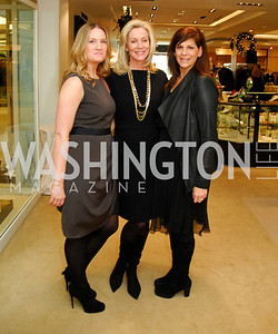 Raegan Morgan, Cynthin Vance, Joni Sandman, December 4, 2011, Saks Jandel Fashion Show Benefiting Children's National Medical Center.