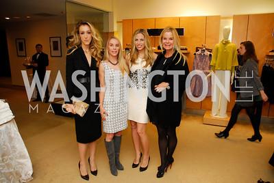 Kristen Rose, Cindy Jones, Amy Donnelly, Susanna Quinn, December 4, 2011, Saks Jandel Fashion Show Benefiting Children's National Medical Center.