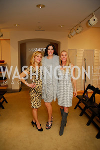 Stacey Lubar, Amy Baier, Cindy Jones, December 4, 2011, Saks Jandel Fashion Show Benefiting Children's National Medical Center.