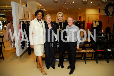 Lashea Greene, Dotsy Steel, Cynthin Vance, Ronnie Stewart, December 4, 2011, Saks Jandel Fashion Show Benefiting Children's National Medical Center.