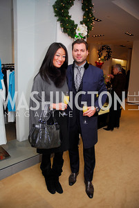 Pamela Sorensen, Jason Kampf, December 4, 2011, Saks Jandel Fashion Show Benefiting Children's National Medical Center.