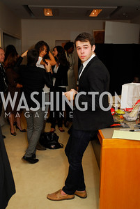Luke Rozansky, December 4, 2011, Saks Jandel Fashion Show Benefiting Children's National Medical Center.