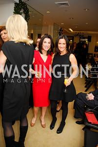 Tracy Bernstein, Rebecca Fishman, December 4, 2011, Saks Jandel Fashion Show Benefiting Children's National Medical Center.