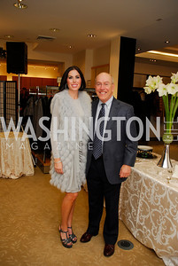 Amy Baier, Kurt Newman, December 4, 2011, Saks Jandel Fashion Show Benefiting Children's National Medical Center.