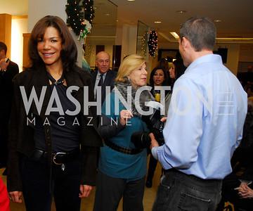 Ann Walker Marchand, Nina Totenberg, December 4, 2011, Saks Jandel Fashion Show Benefiting Children's National Medical Center.