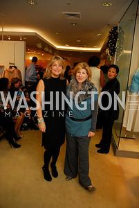Toni Marx, Nina Totenberg, December 4, 2011, Saks Jandel Fashion Show Benefiting Children's National Medical Center.