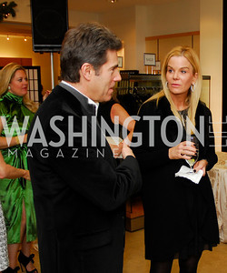 Peter Marx, Susanna Quinn, December 4, 2011, Saks Jandel Fashion Show Benefiting Children's National Medical Center.