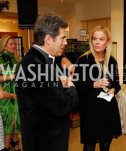 Peter Marx, Susanna Quinn, December 4, 2011, Saks Jandel Fashion Show Benefiting Children's National Medical Center.